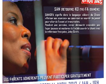 SANKOFA la chorale urbaine (6-106 ans !)